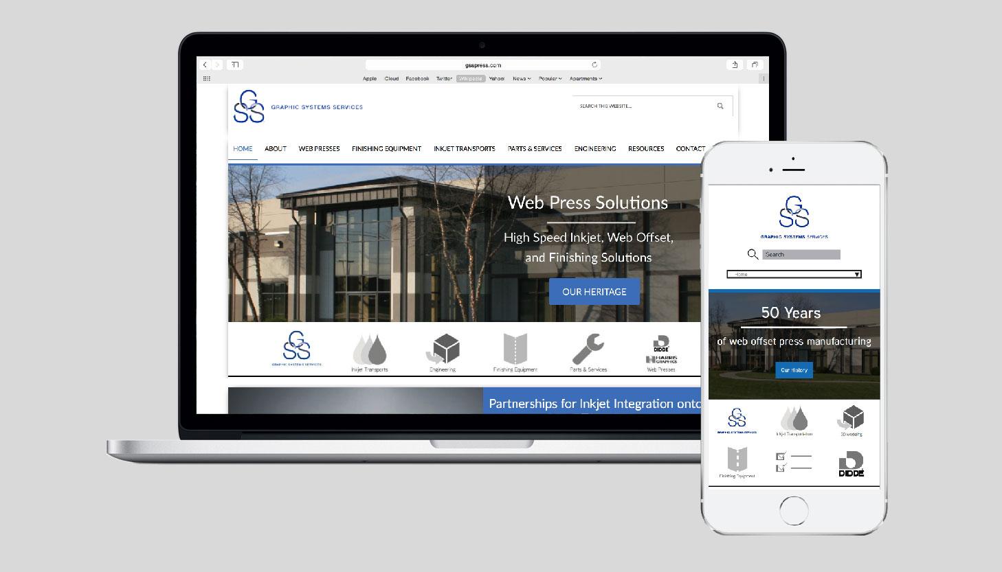 Graphic Systems Services | Icon Design | Luke Sillies Design