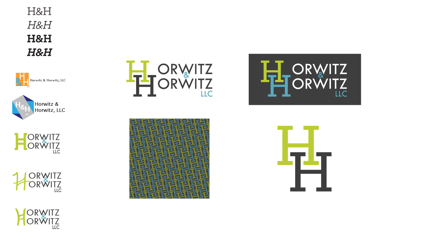 Horwitz & Horwitz, LLC | Brand Identity | Luke Sillies Design