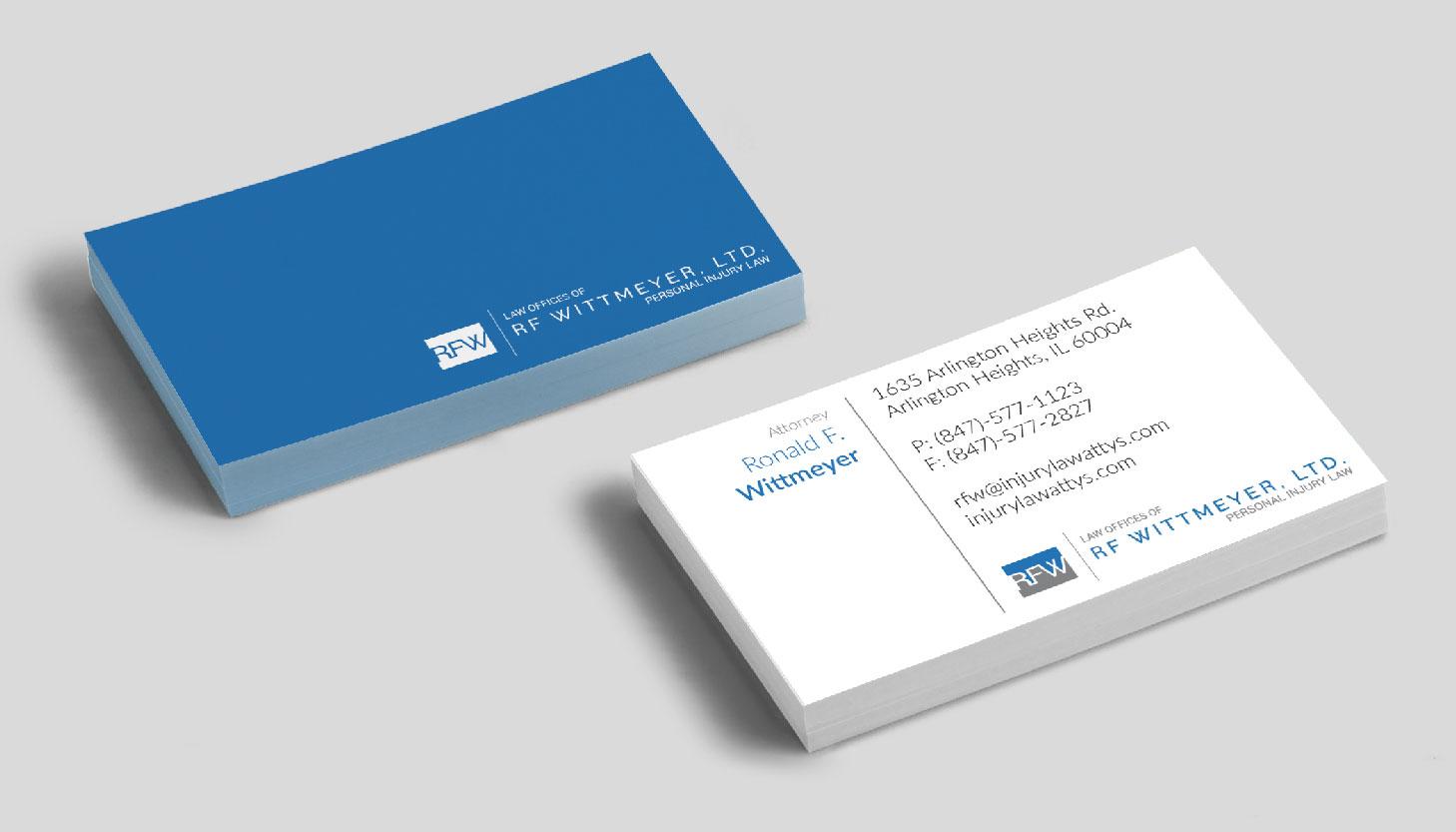 Ron Whittmeyer, LTD | Print Design | Luke Sillies Design